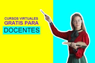 cursos virtuales gratis para docentes