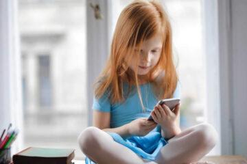 uso del celular en los niños